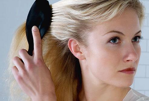 Во время беременности состояние волос