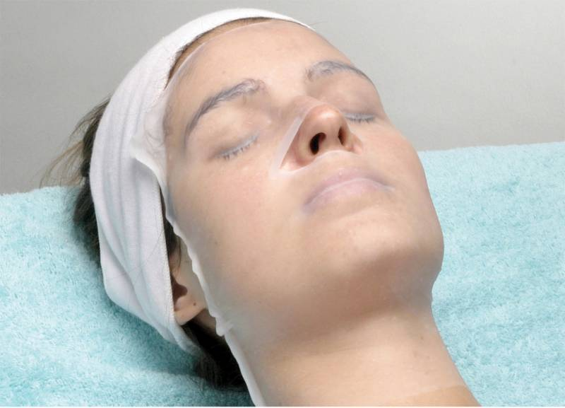 Маски и ванночки для лица маски